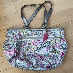 Coach Poppy Large Diaper Bag